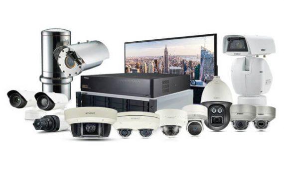قسمتهای مختلف مورد نیاز دوربین مدار بسته