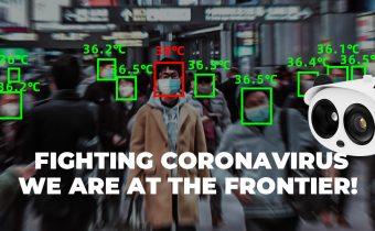 دوربین کنترل تب و حرارت افراد